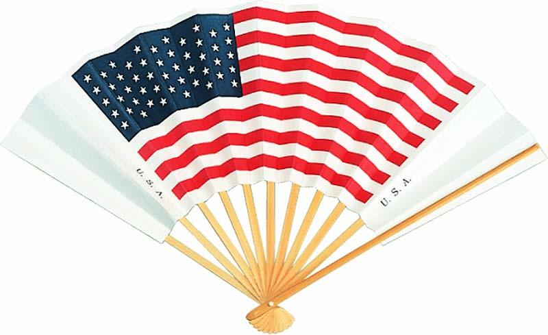 国旗扇子 アメリカ
