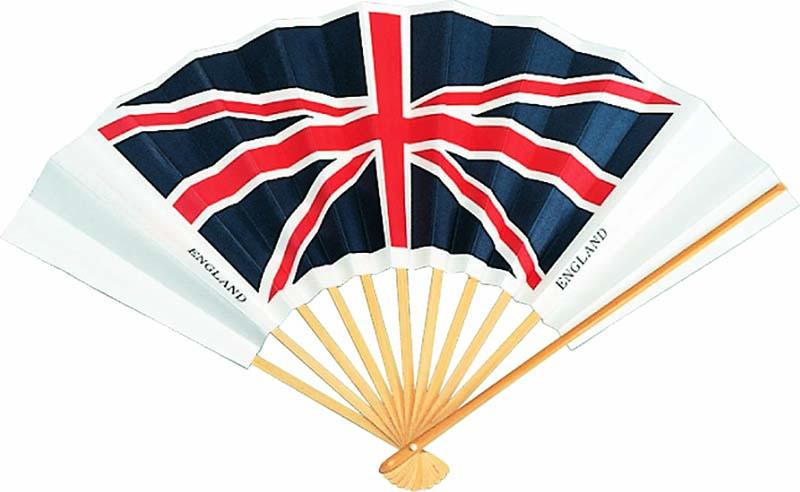 国旗扇子 イギリス