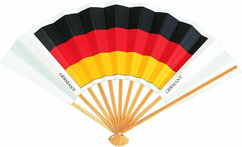 国旗扇子 ドイツ